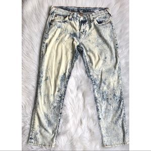 True Religion Bleached Boyfriend Jeans Size 29